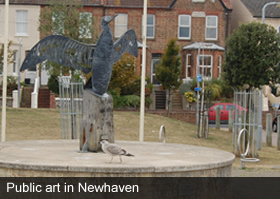 Public art in newhaven